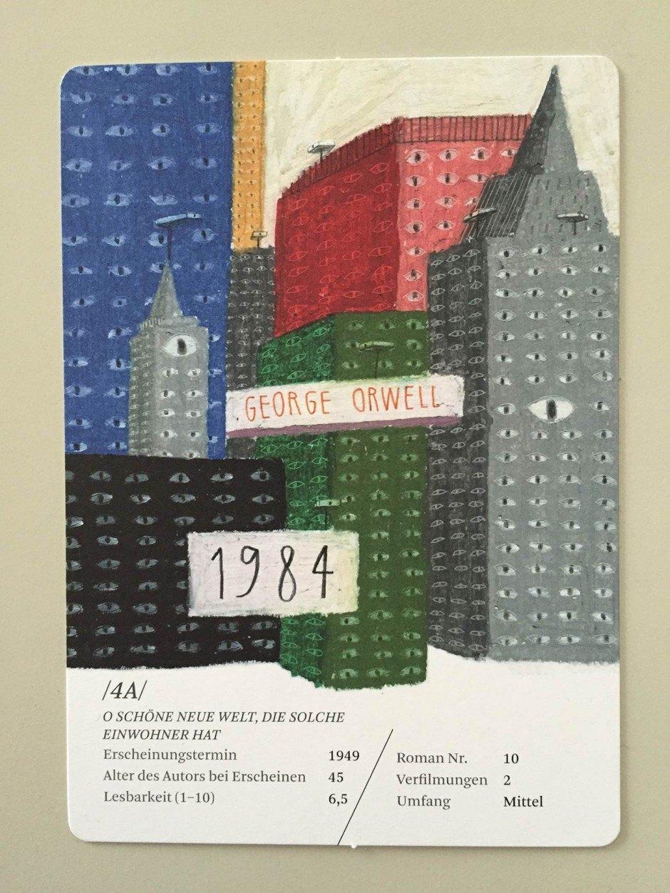 Für die Illustrationen von »Des Pudels Kern. Das Quartett der Weltliteratur« der Collection Büchergilde sorgte Julia Krusch