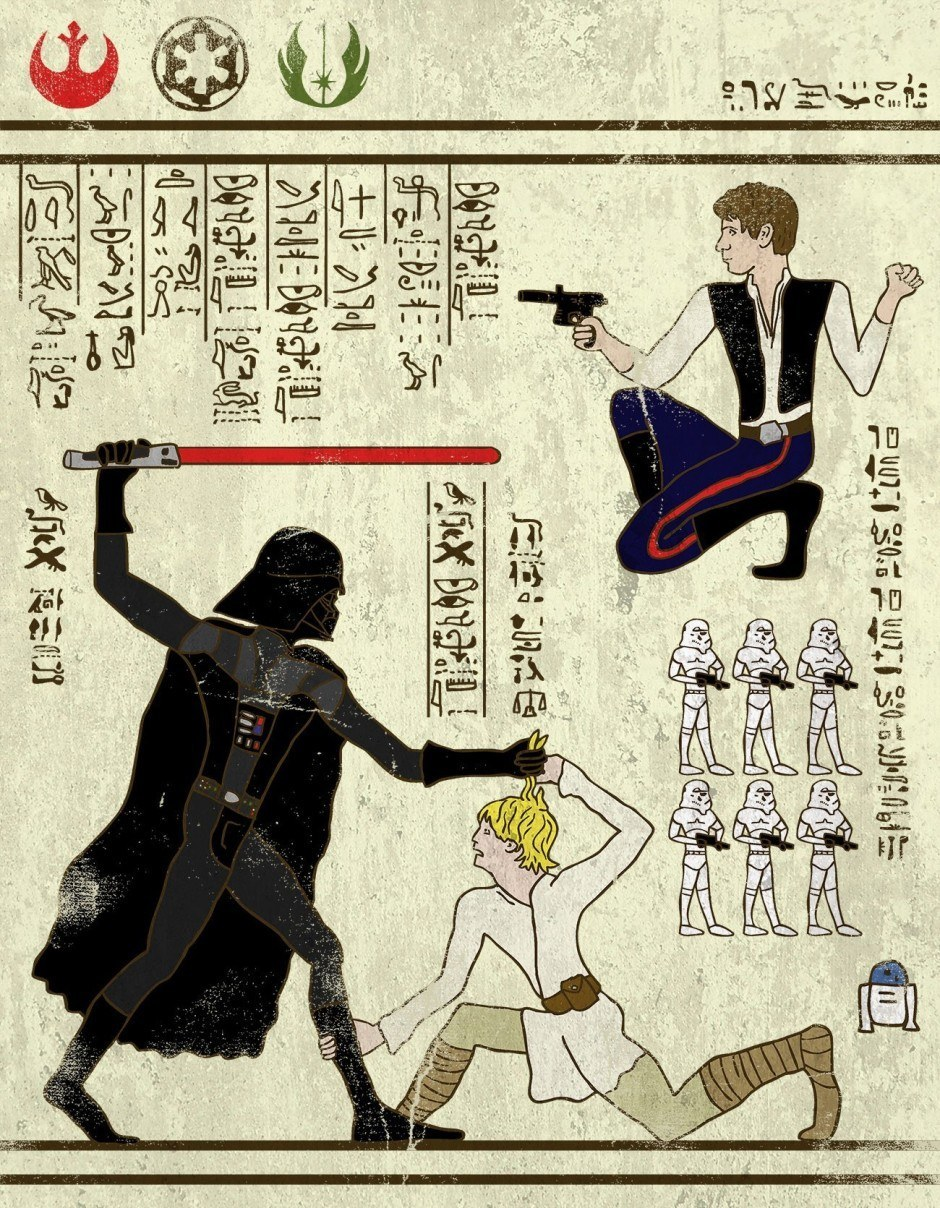 Hero-Glyphics: The Force