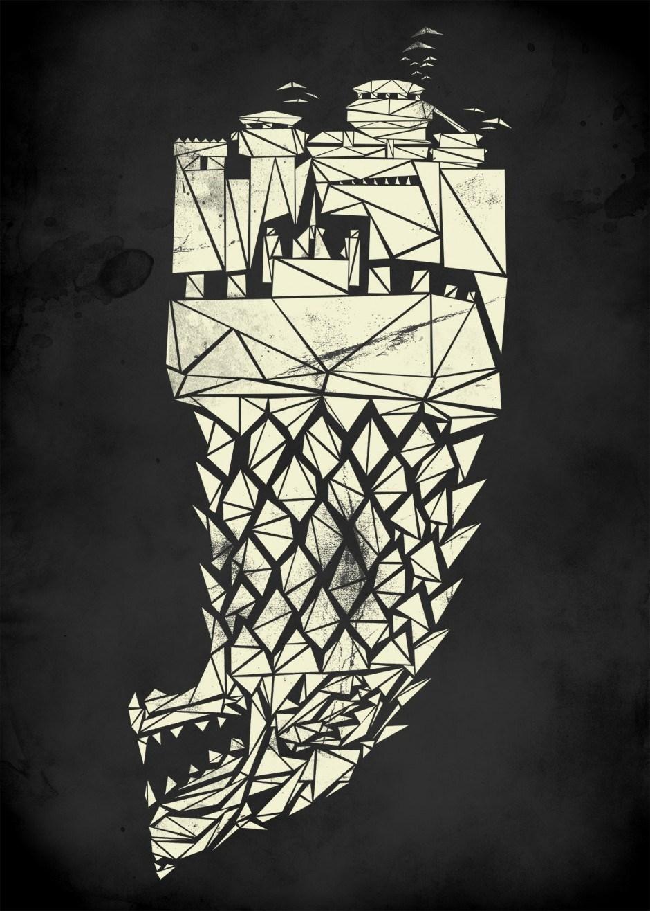 Shatterd Westeros Winterfell