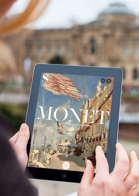Bronze Redaktionelle Inhalte: Monet von Scholz & Volkmer für das Städel Museum
