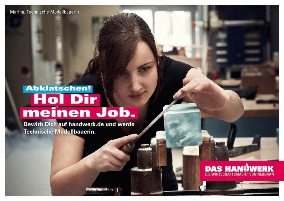 Bronze Integrierte Kampagne: Abklatschen von Heimat für Zentralverband des deutschen Handwerks
