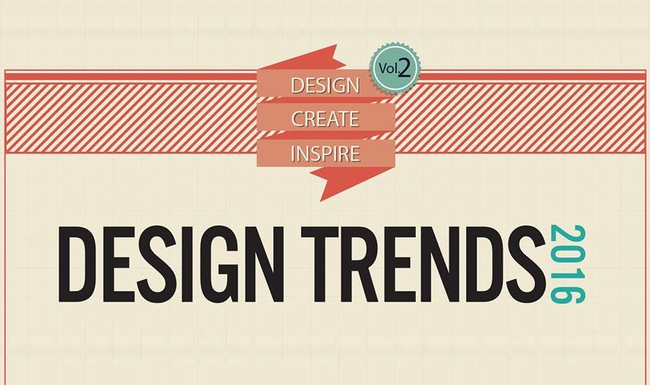Infografik Design Trends 2016 Page Online