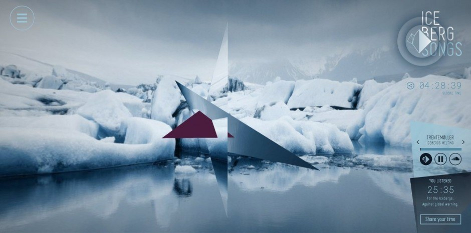 Iceberg Songs Serviceplan