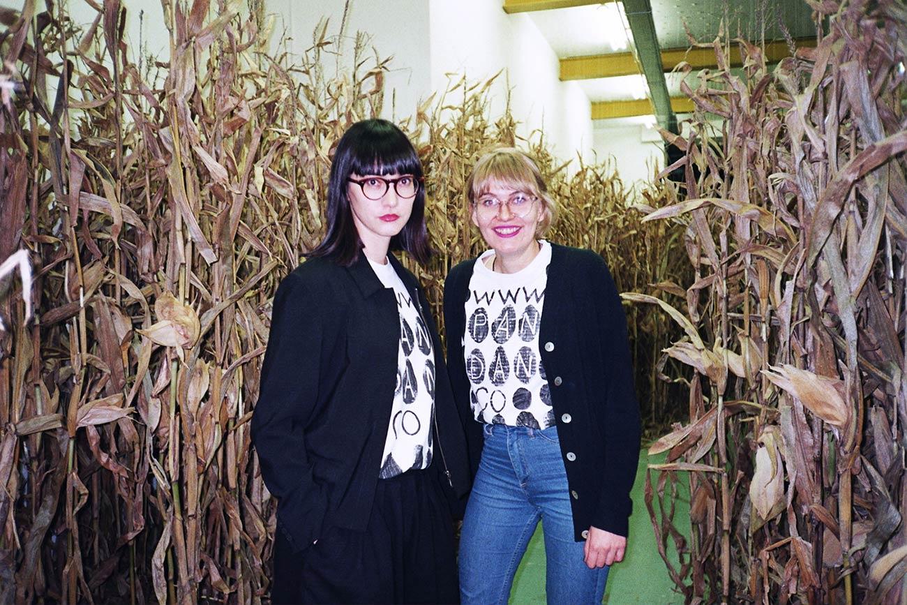 Pia Christmann and Ann Richter