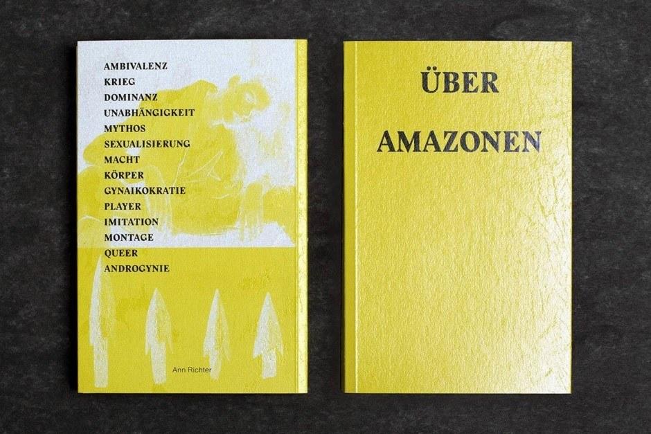 ÜBER AMAZONEN, Künstlerbuch