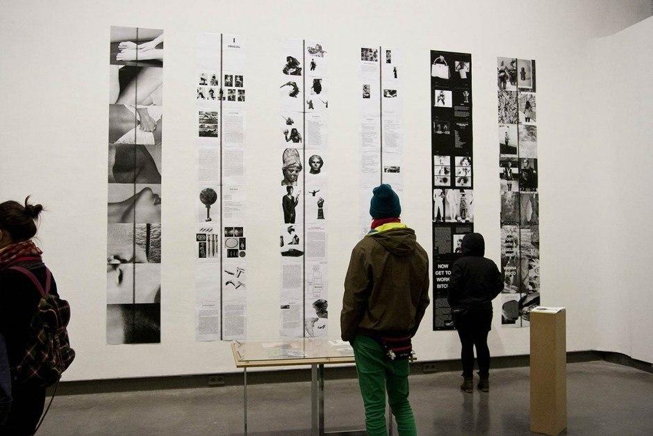ÜBER AMAZONEN, Ausstellung
