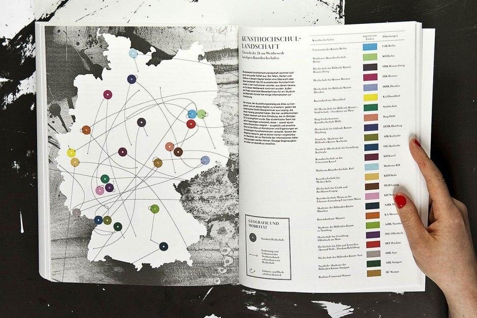 Atlas 2013, Katalog