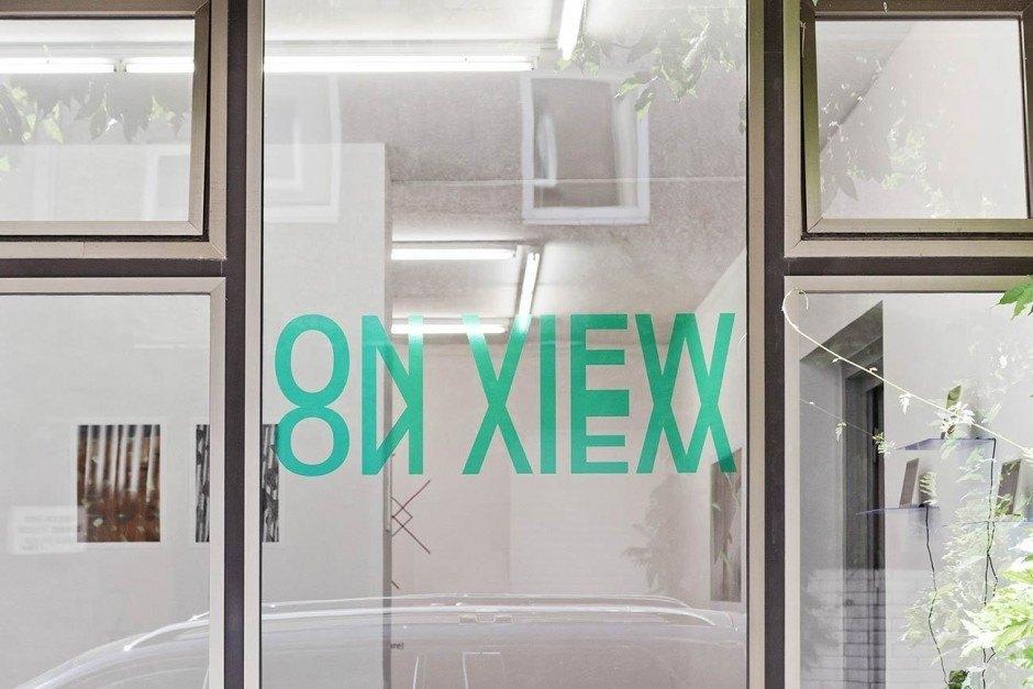 ON VIEW, Ausstellungsgestaltung