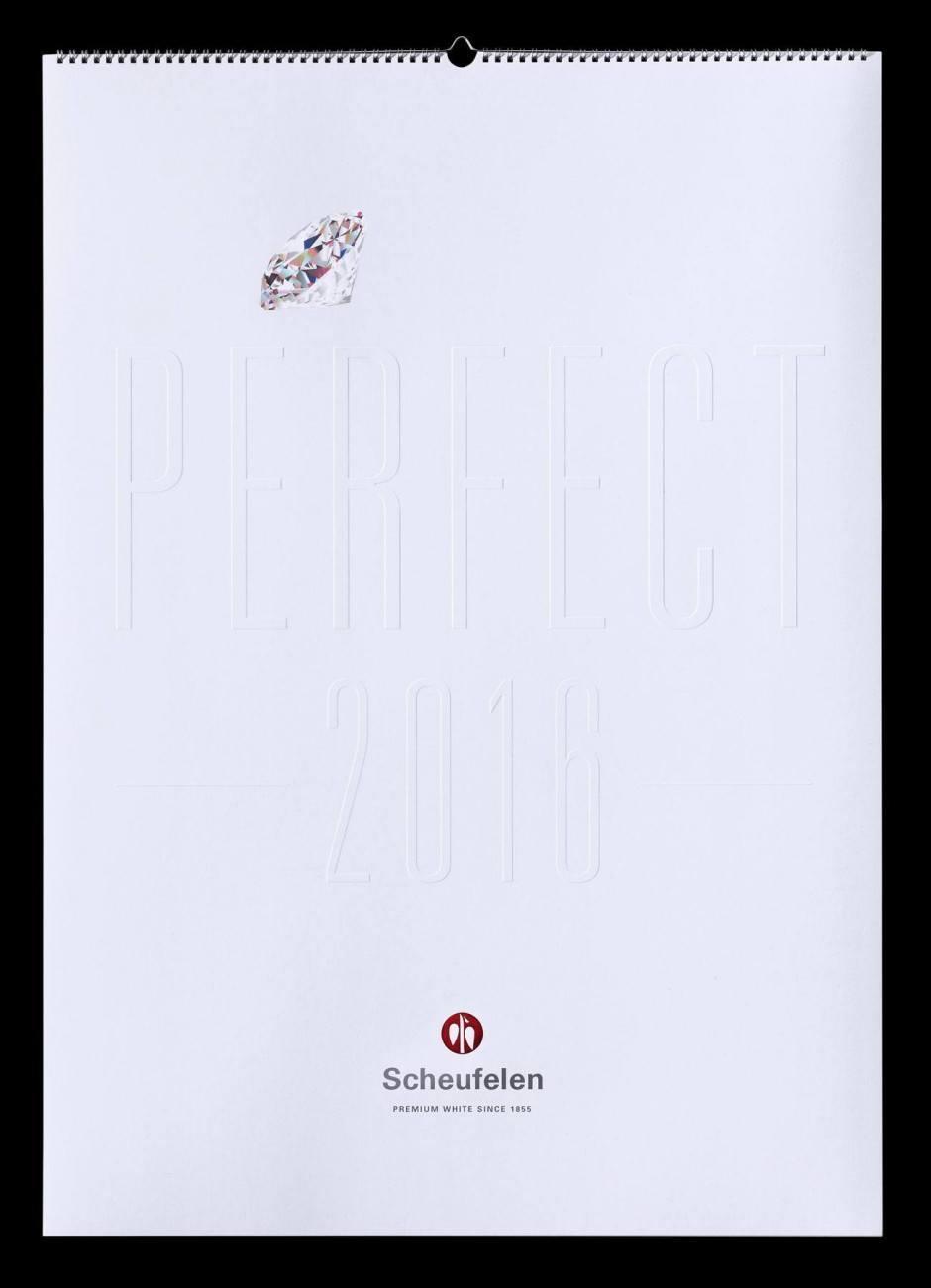 »Perfect« – Scheufelen Kalender 2016