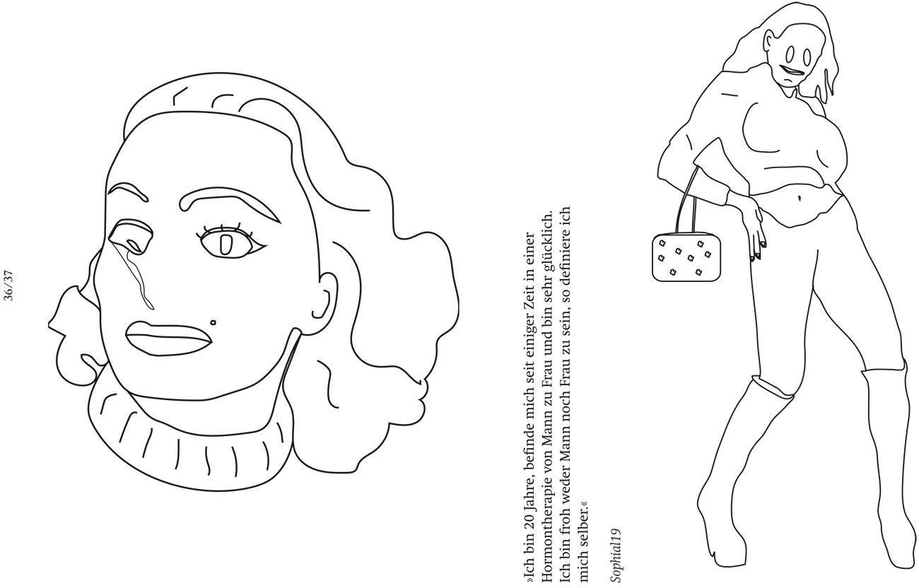 Benannt nach Madonna\'s »Human Nature«: Fetisch zum ausmalen | PAGE ...