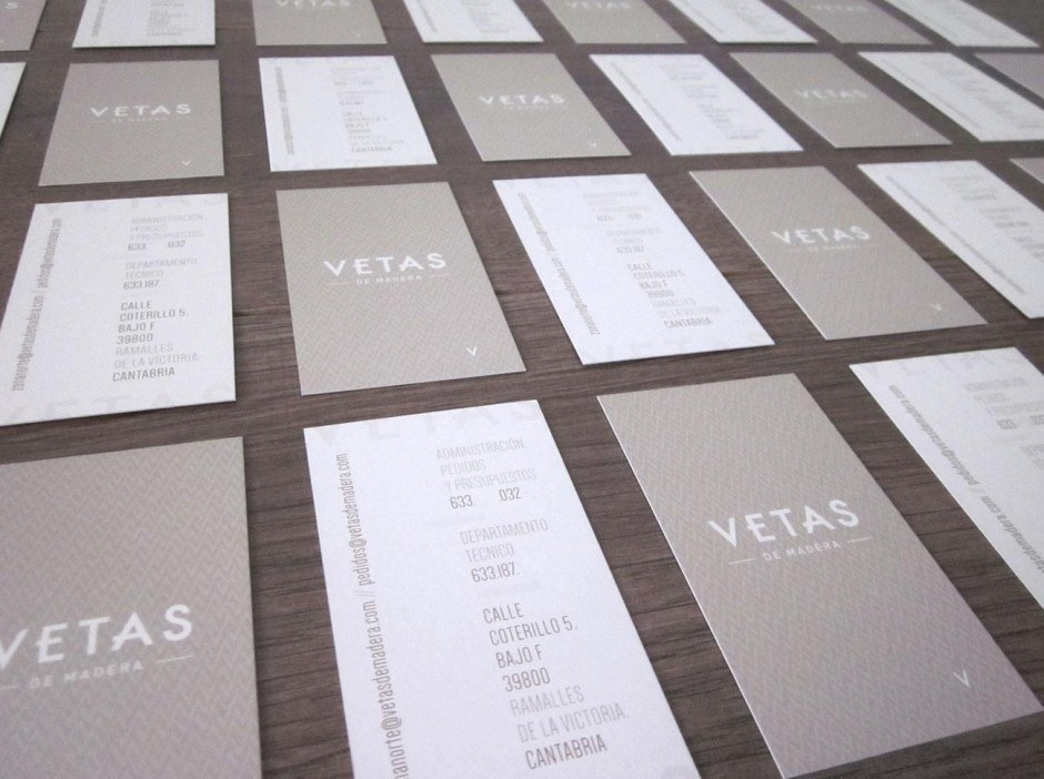 Vetas Businesscards
