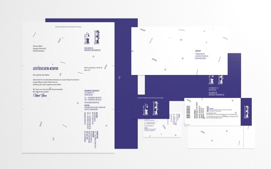 Corporate Design für ein junges Theater, das richtig auf die Kacke haut!