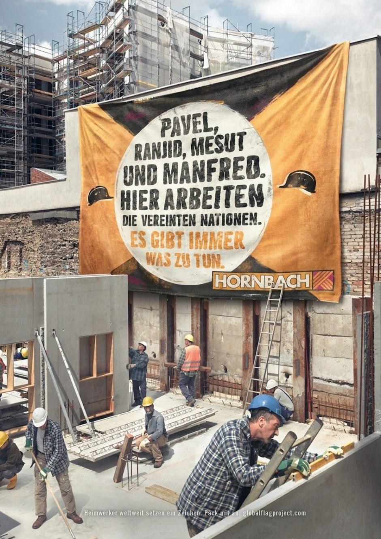 Silber Print: Es gibt immer was zu tun von Heimat für Hornbach