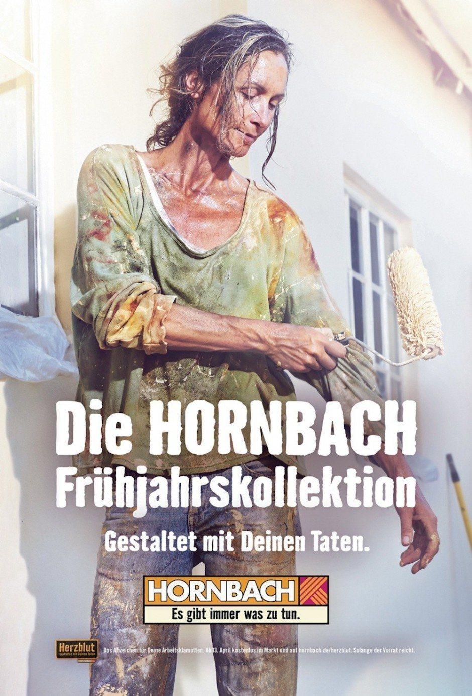 Silber Integrierte Kampagne: Hornbach Frühjahrskollektion von Heimat