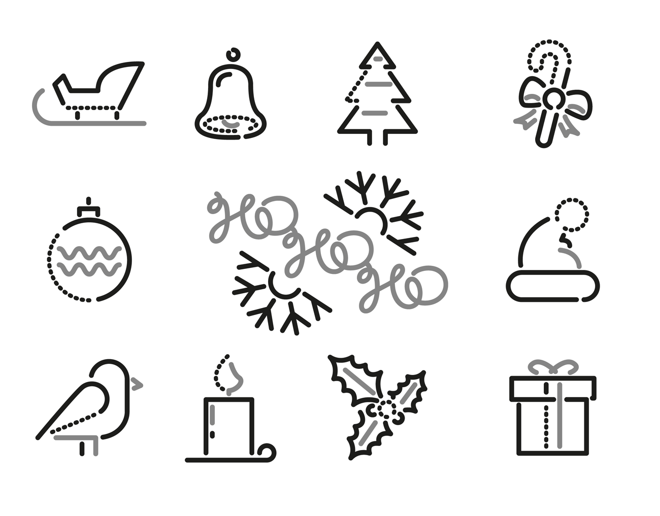 xmas-icons-hohoho-dribbble