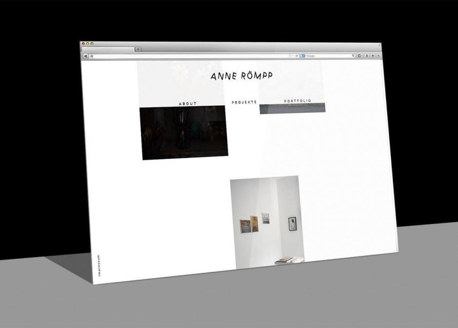 Anne Römpp – Website