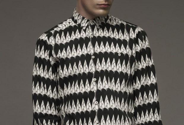 Illustrator Eugen Laitenberger entwarf neue Muster für sein Herrenhemden-Label Gunee.