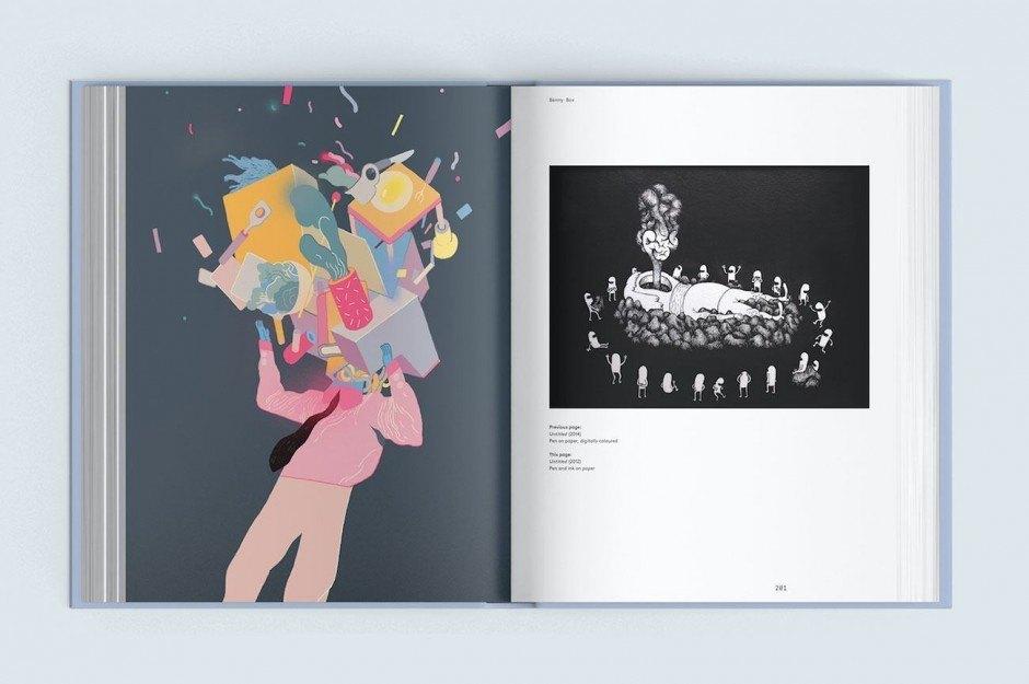 Das Buch »Contemporary Danish Illustration«, erschienen beim Arvinius Verlag in Stockholm, stellt 32 herausragende Illustratoren aus Dänemark vor. Darunter Benny Box