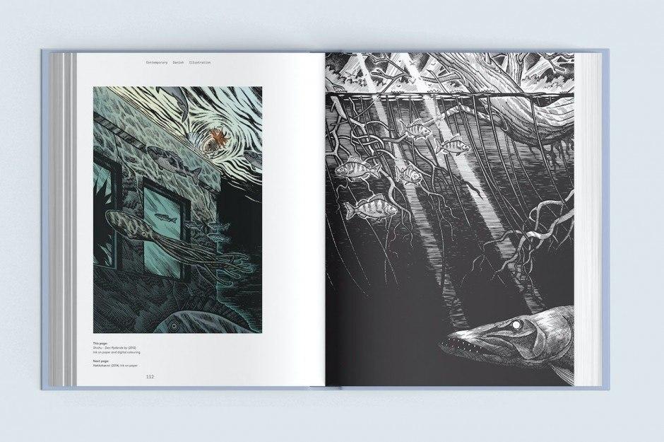 Das Buch »Contemporary Danish Illustration«, erschienen beim Arvinius Verlag in Stockholm, stellt 32 herausragende Illustratoren aus Dänemark vor. Darunter Simon Bukhave
