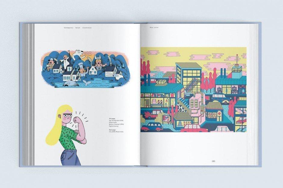 Das Buch »Contemporary Danish Illustration«, erschienen beim Arvinius Verlag in Stockholm, stellt 32 herausragende Illustratoren aus Dänemark vor. Darunter Miss Lotion