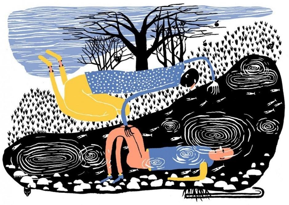 Das Buch »Contemporary Danish Illustration«, erschienen beim Arvinius Verlag in Stockholm, stellt 32 herausragende Illustratoren aus Dänemark vor. Darunter Simon Væth