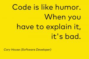 Developer, Sprüche, Zitate
