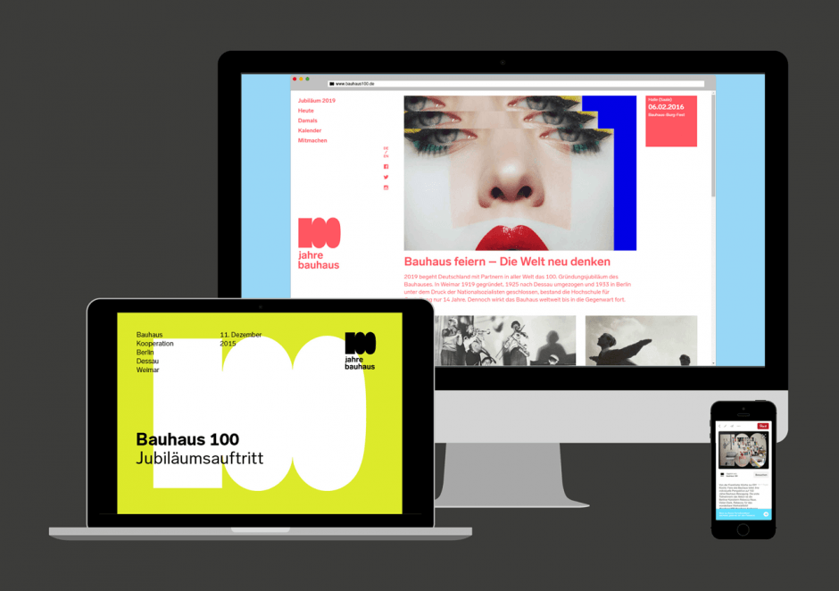 100 Jahre Bauhaus – Digital Media