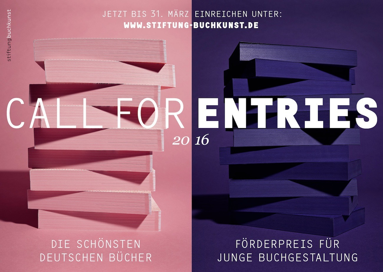 Stiftung Buchkunst Call for Entries 2016