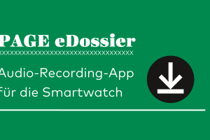 Audio-Recording-App, Smartwatch