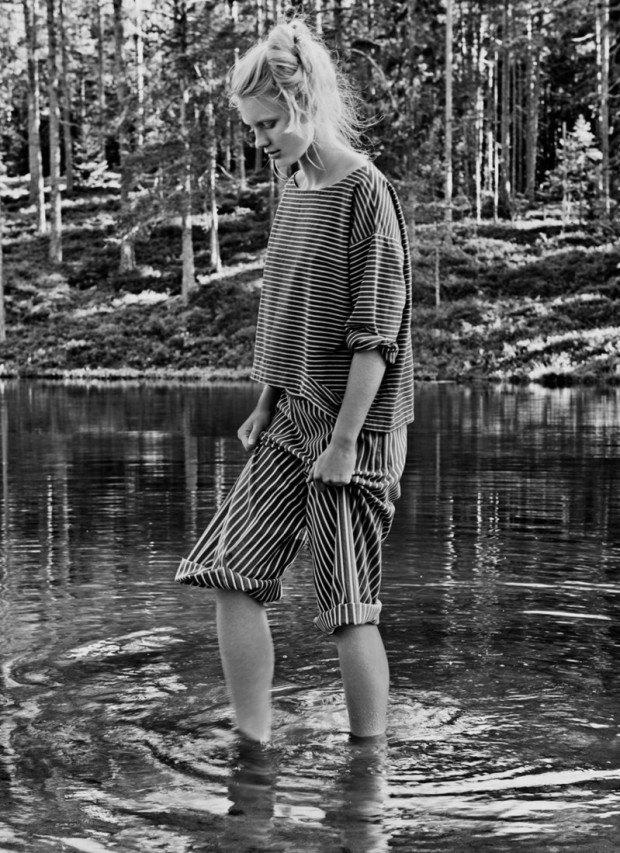 Carl Bengtsson schoss die Fotos für die Frühjahrskollektion des Modelabels Nygårdsanna