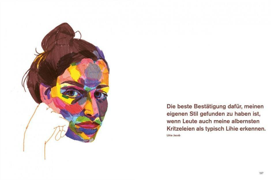 Karoline Pietrowski: Stilgefühl. 100-mal auf dem Weg zum eigenen Zeichenstil. Jaja-Verlag Berlin