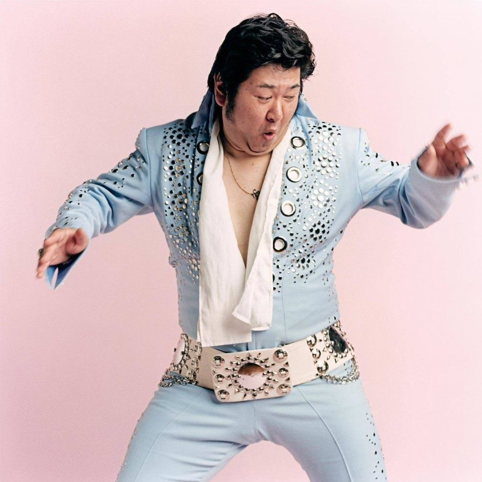 TOKI TOYOKAZU, Elvis tribute artist, Sendai, Japan The Powder Blue jumpsuit