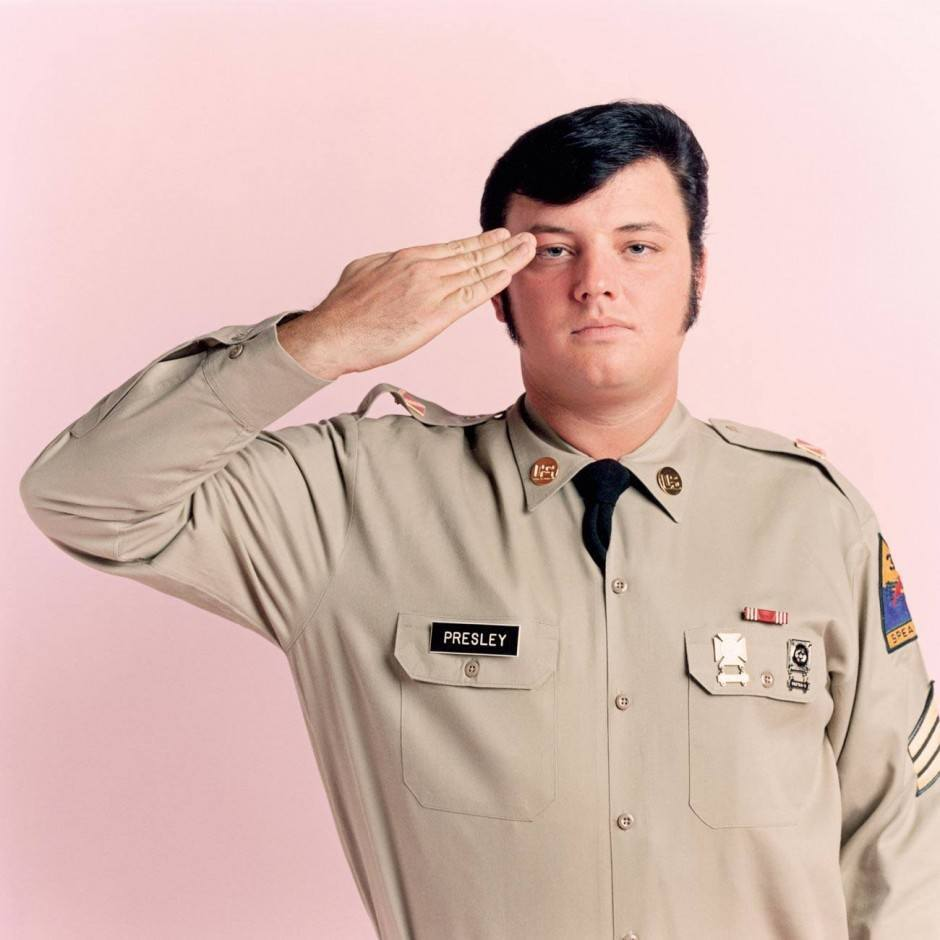 ROB LANGFORD, Civil servant, Birmingham, Alabama Elvis's Army uniform