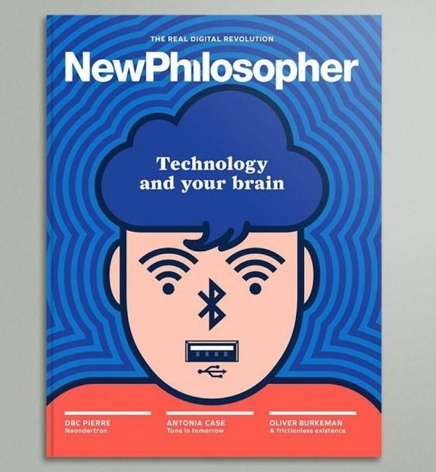Der Spanier Genís Carreras hat schon öfter reduzierte Illustrationen für das australische Magazin »NewPhilosopher« angefertigt. http://studiocarreras.com