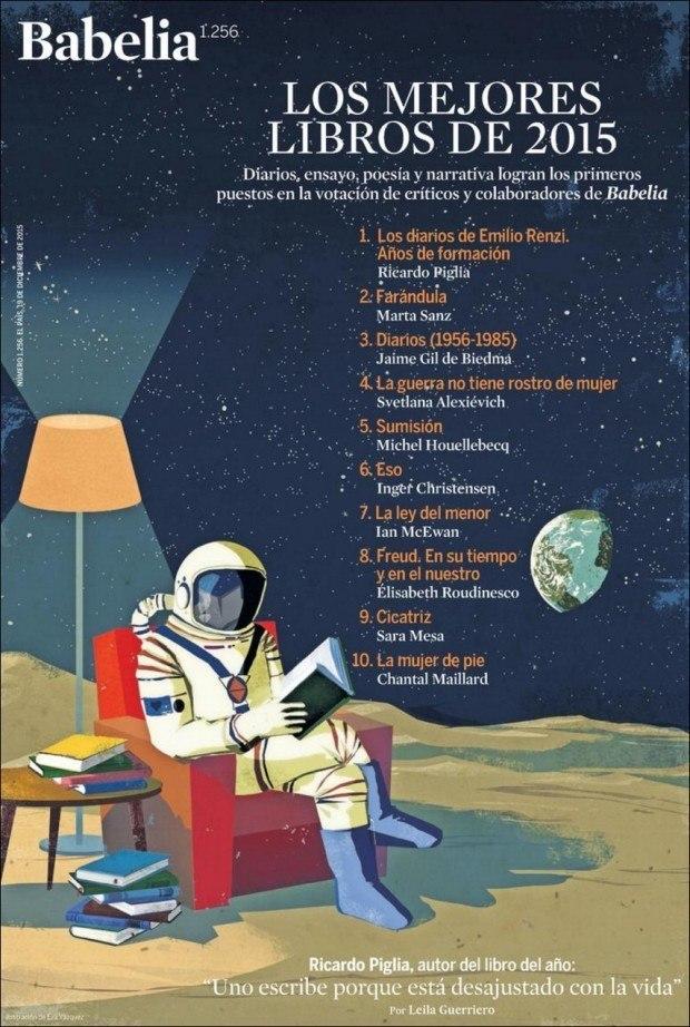 Gute Bücher werden auch noch gelesen, wenn wir auf anderen Planeten heimisch sind, wie Eva Vázquez zeigt. http://evavazquezdibujos.com