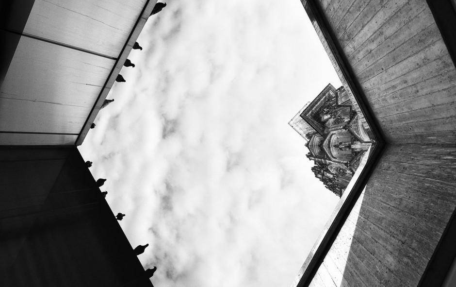 Bildkomposition aus 2 Motiven aufgenommen in Köln, 2015
