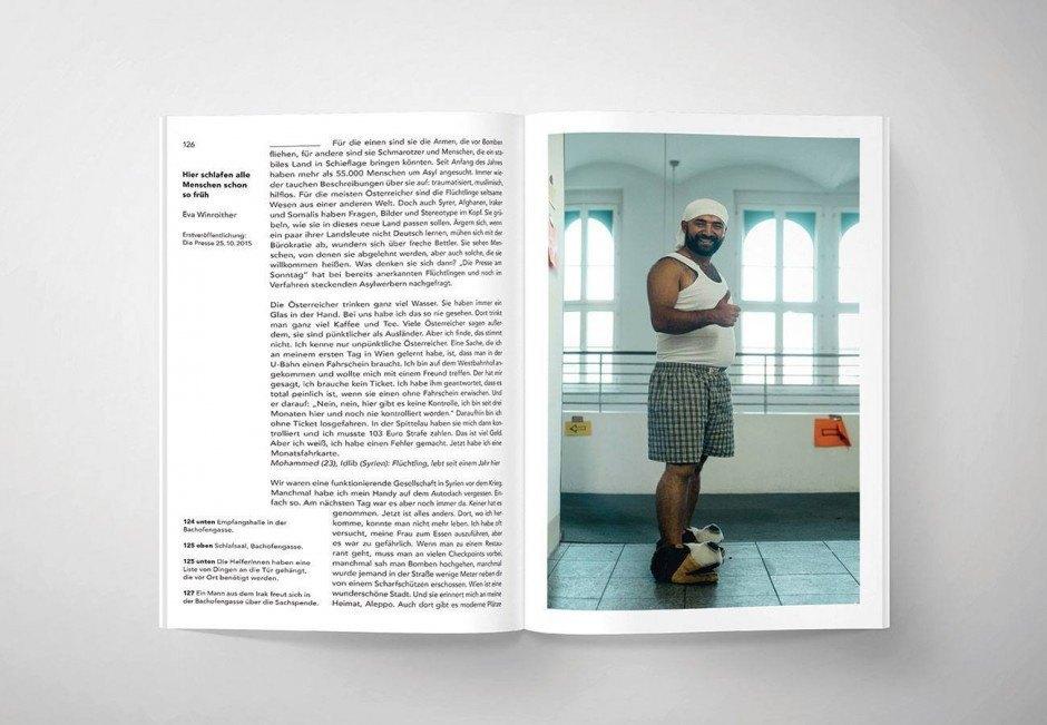 Ein Zeitdokument über die Fluchtbewegung in Österreich im Herbst 2015