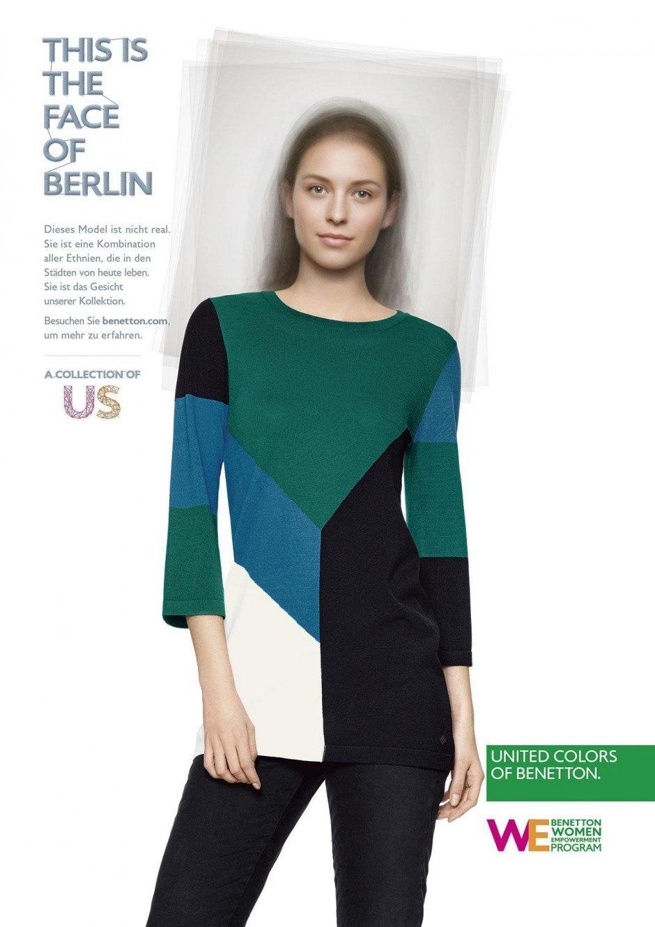 Die Benetton-Kampagne »Face of the City« zeigt die Modehauptstädte der Welt als Melting Pot