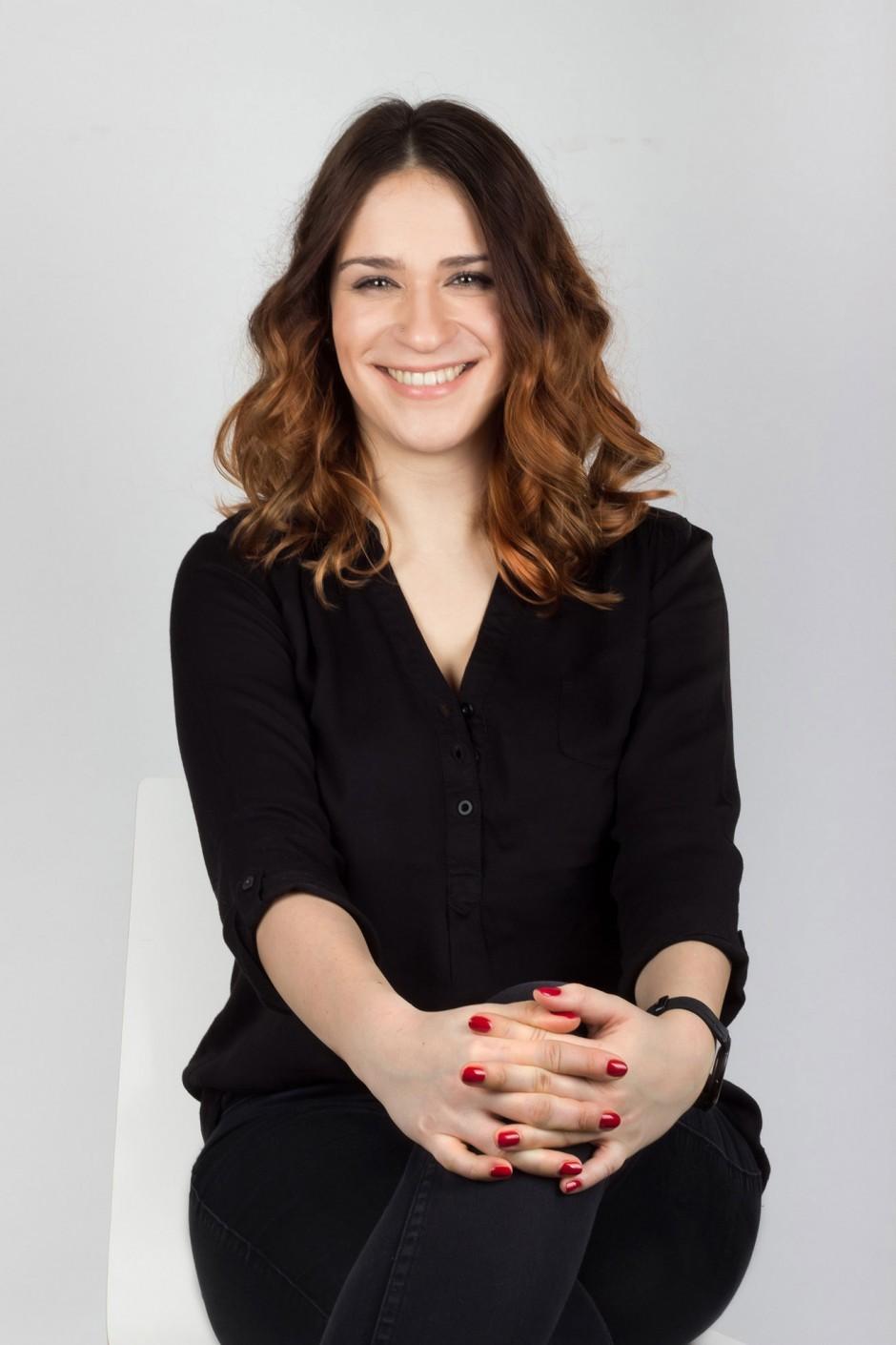Studentin der ecosign/Akademie für Gestaltung und Erfinderin der App