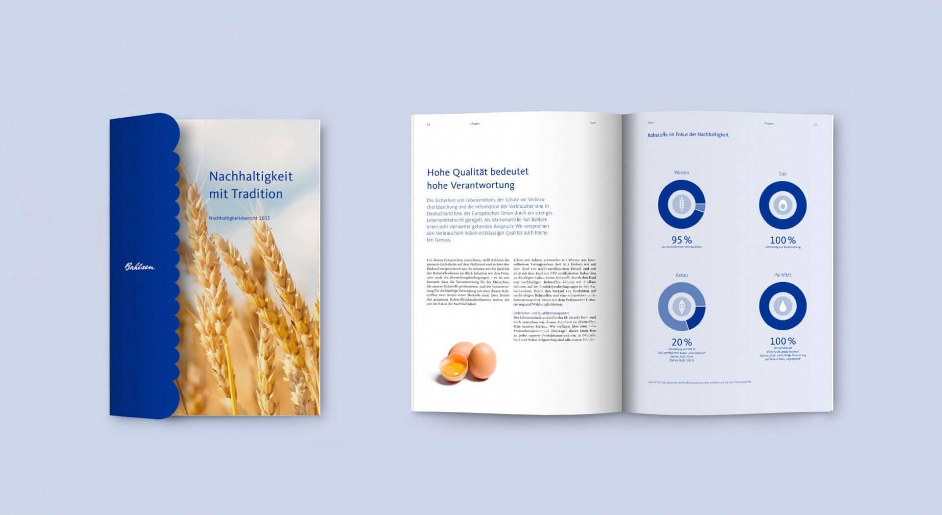 Bahlsen Broschüre & Flyer