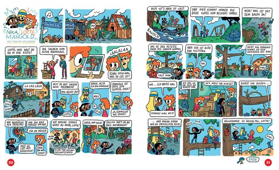 Zeit Leo Comic von Thomas Wellmann