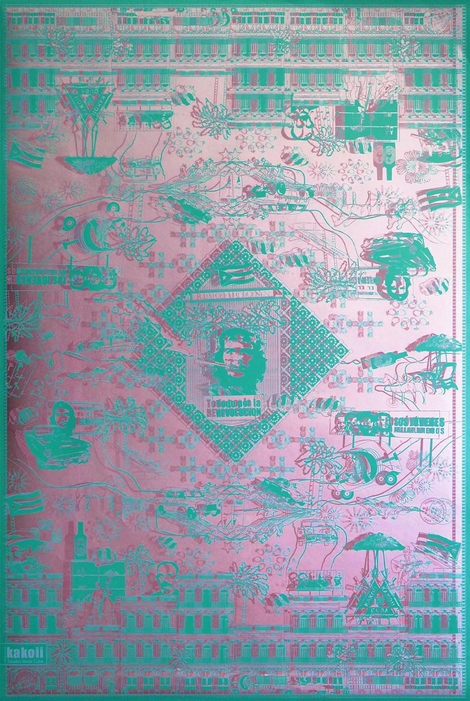 Geschenkpapier-Edition Kuba