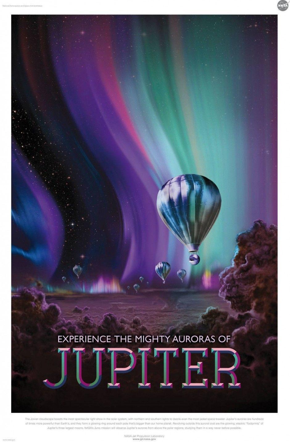 NASA Plakat: Jupiter