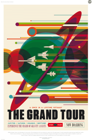 NASA Poster, Plakat Design, Illustration