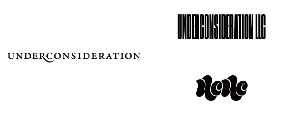 UnderConsideration: Vorher-Nachher Logodesign