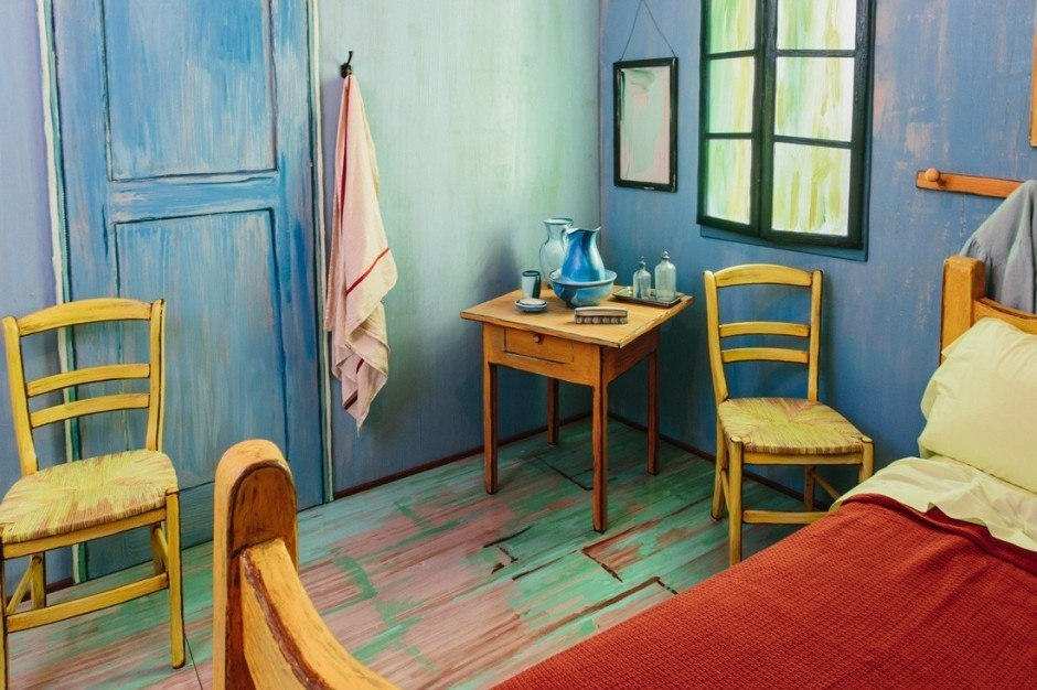 Van Gogh Zimmer Bild 2