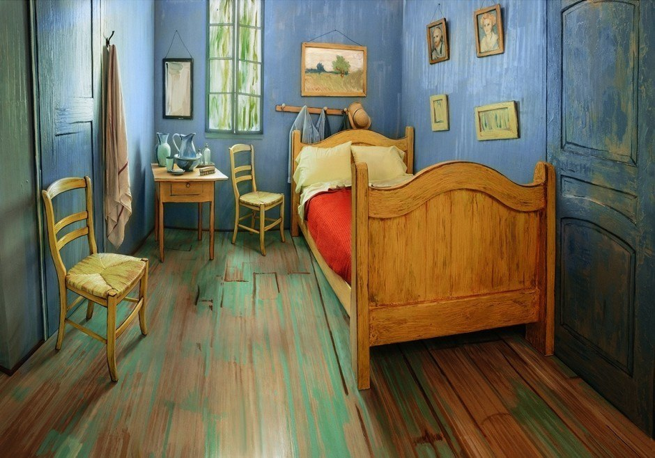 Vincent Van Gogh, Airbnb, Schlafzimmer