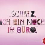 Mit Typoillustrationen von Serial Cut aus Madrid bestückte Jung von Matt eine witzige Kampagne für Vodafone