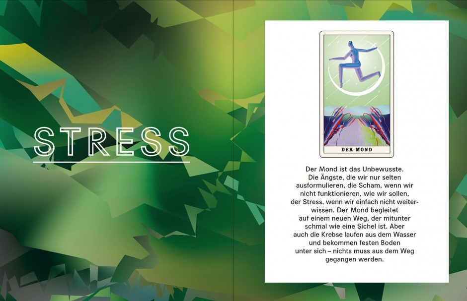 John Lisle illustrierte für die 30. Ausgabe des »Missy Magazins« Gefühle in Form von Tarot-Karten