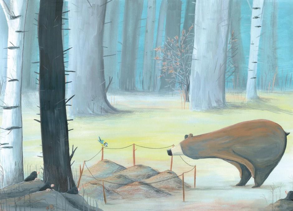 Die Preisträger des Ravensburger-Illustrationswettbewerbs: 1. Platz für Laura Bednarskis Bilderbuchidee »Wo der Bärlauch wächst«